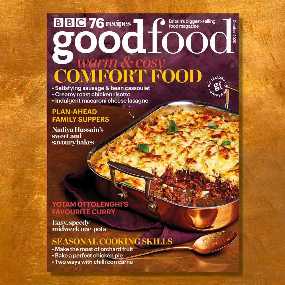 good food October magazine cover