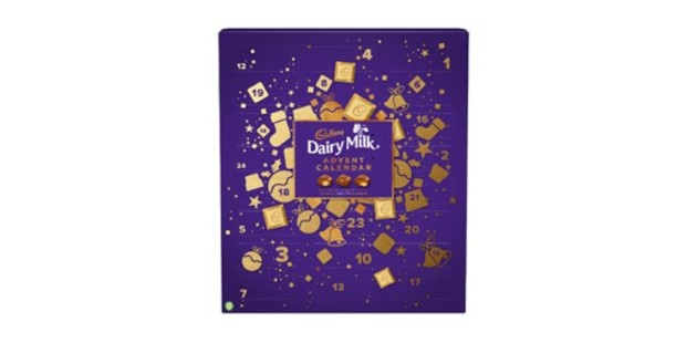 Cadbury Dairy Milk Advent Calendar, best kids advent calendar