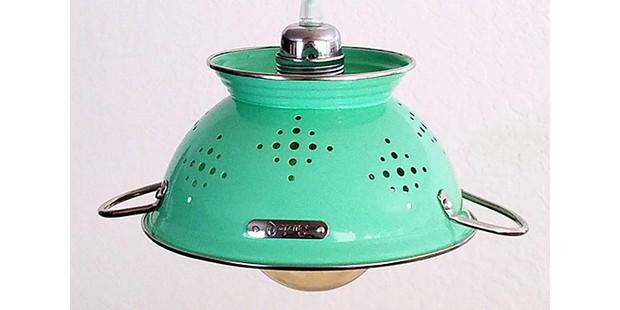 Colander Pendant kitchen light, best sustainable gifts