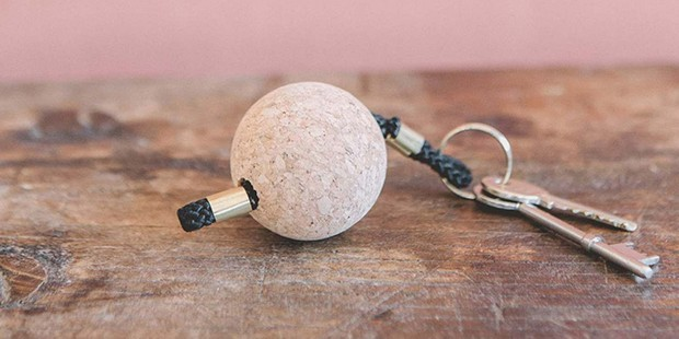 Cork Keyring, sustainable gifts