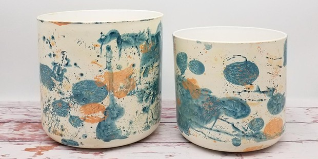 Eco friendly recycled pots, sustainable gifts