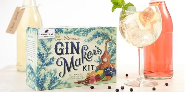Sandy Leaf Gin Makers Kit, best gin making kits