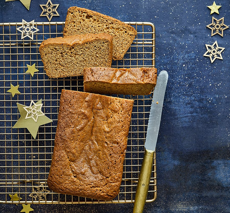 Gingerbread & honey loaf