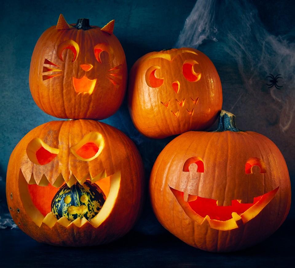 Easy Pumpkin Carving Ideas Bbc Good Food