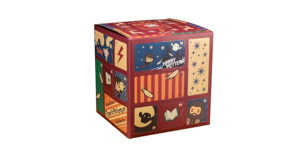 Harry Potter Cube advent calendar
