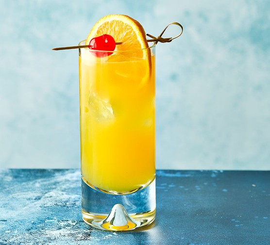 One Harvey wallbanger cocktail