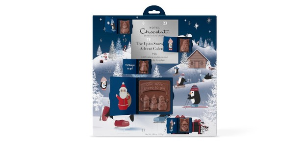 Hotel Chocolat The Up To Snw Good Advent calendar, best kids advent calendar