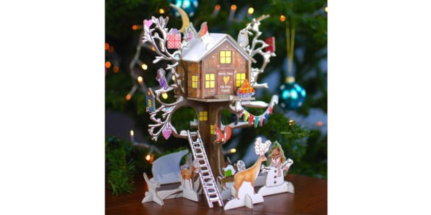 Personalised fairytale treehouse advent calendar