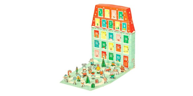 Petit Colllage Advent Calendar, best kids advent calendars