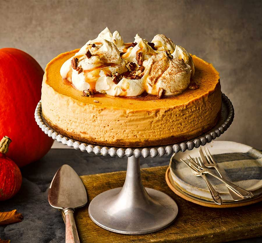 Pumpkin Cheesecake Recipe Bbc Good Food