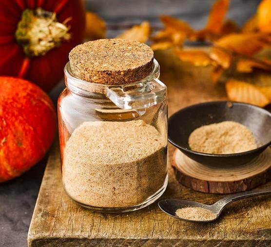 Pumpkin spice in a jar