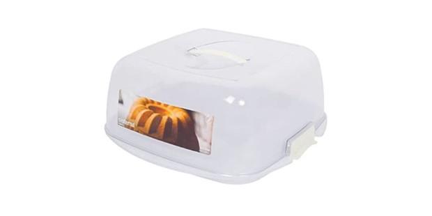 Sistema Bakery Plastic Cake & Muffin Box 8.8L, best cake storage boxes, decorative storage tins
