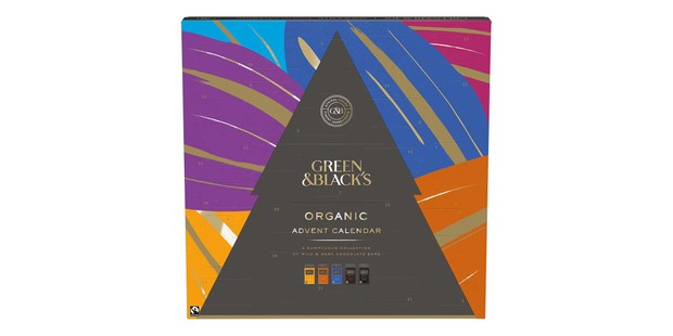 Green and Blacks chocolate Advent calendar