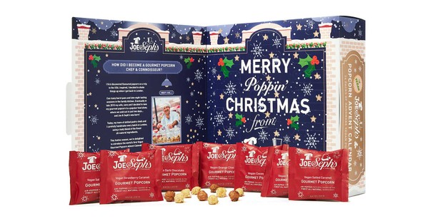 Joe and Sephs popcorn advent calendar