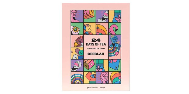 Offblak tea advent calendar