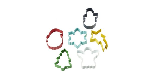 Lakeland six Christmas cookie cutters