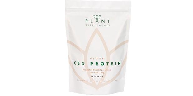 Plant Supplements CBD vegan protein powder