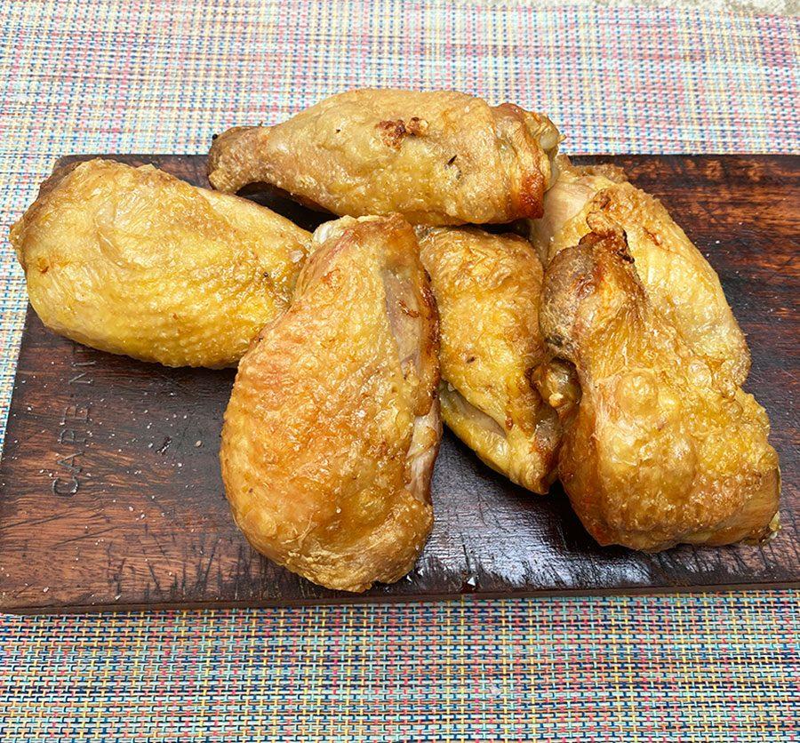 Air-fried chicken