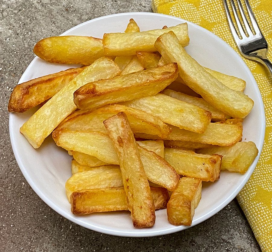 Air-fried chips