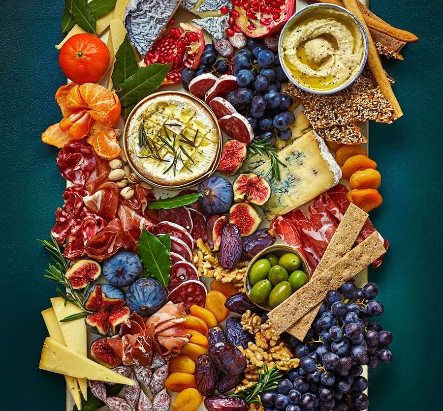 Grazing Platter Recipe Bbc Good Food