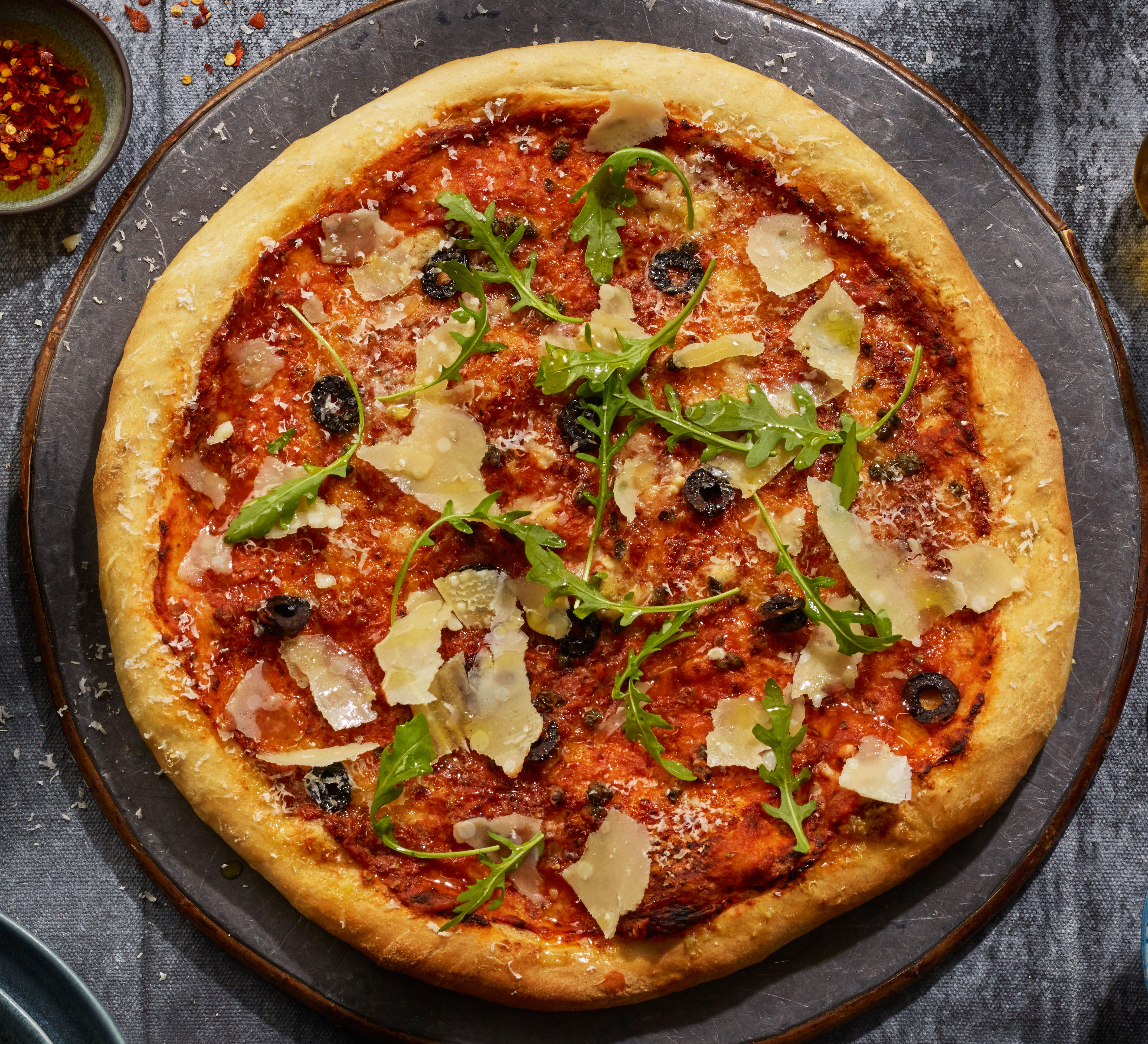 Lactose-free pizza
