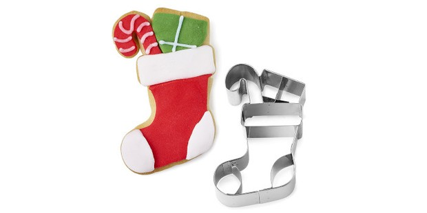 Stocking Christmas cookie cutter