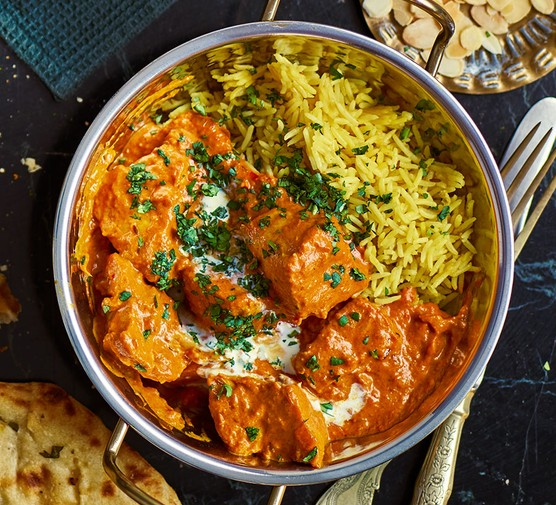 Turkey tikka masala in a pot