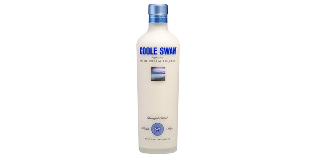 Coole Swan Irish cream liqueur bottle