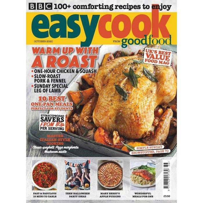 Easy Cook November magazine cover