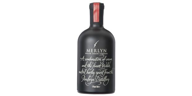 Merlyn cream liqueur bottle