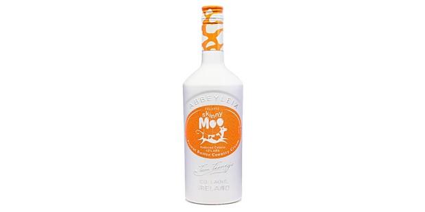 Skinny Moo Irish cream bottle