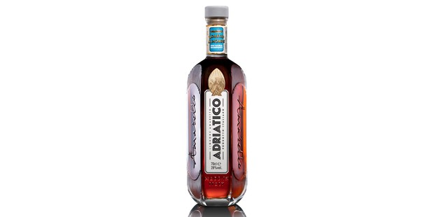 Adriatico liqueur in a bottle