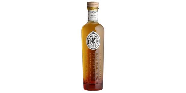 Kings Ginger bottle of liqueur