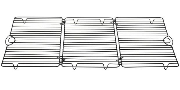 Lakeland rectangular foldable cooling rack