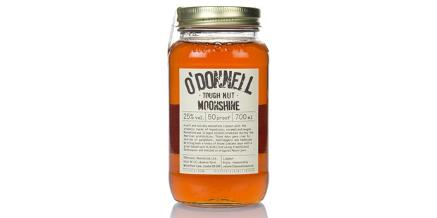 O'Donnell Moonshine in a jar