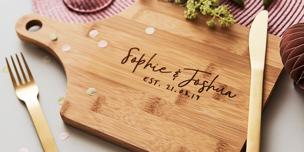 Personalised Chopping Cheese Board