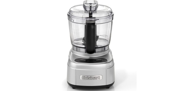 Cuisinart mini food chopper in silver