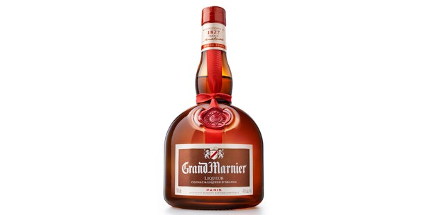 Grand Marnier white in a bottle