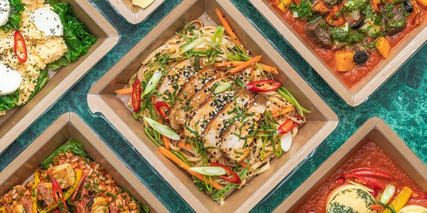 KBK pre-prepared meals in boxes