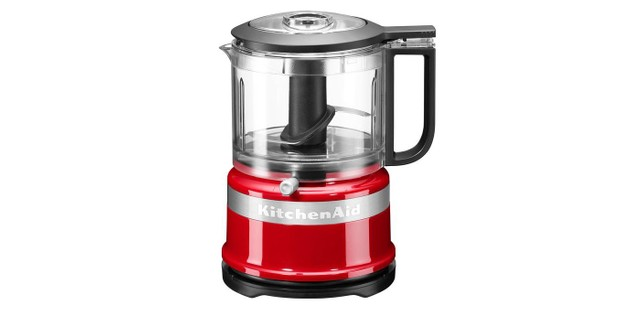KitchenAid mini chopper in red colourway