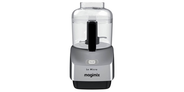 Magimix mini food chopper in silver