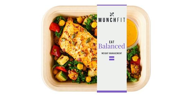 Munch Fit meal in packaging