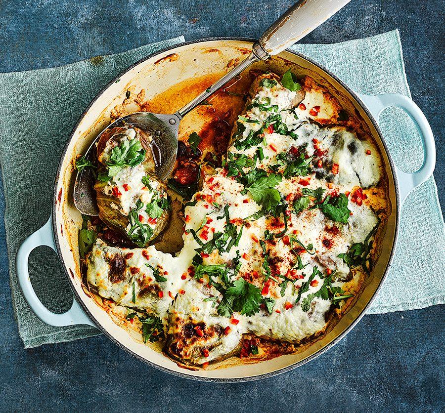 Cabbage roll enchiladas