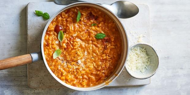 Tomato and Mascapone Risotto