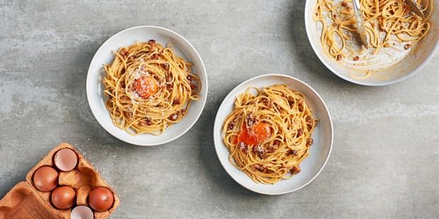 Next level spaghetti carbonara