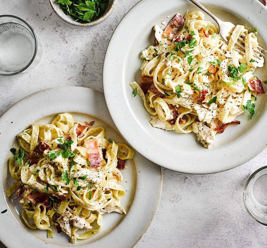 Chicken & bacon pasta
