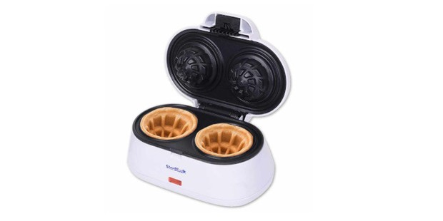 Double Waffle Bowl Maker by StarBlue, best waffle makers