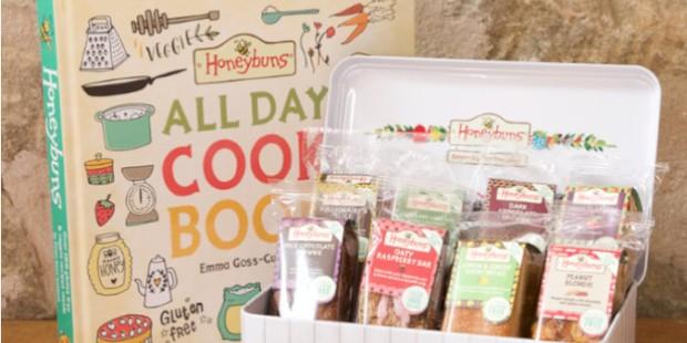 HoneyBuns book and cake bundle