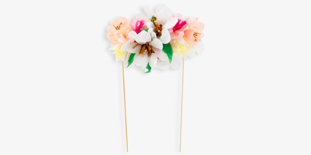Meri Meri Flower Cake Topper