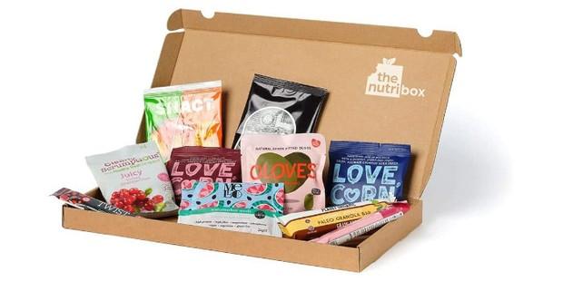 Nutribox slim gluten-free snack hamper